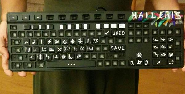 GREAT ARTIST keyboard